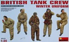 MiniArt British Tank Crew - Winter Uniform 1/35