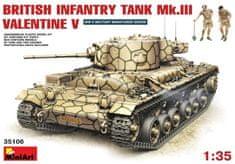 MiniArt British Infantry Tank Mk.III VALENTINE V 1/35