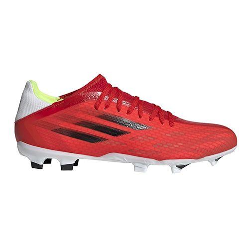 Adidas X SPEEDFLOW.3 FG, X SPEEDFLOW.3 FG | FY3298 | CZERWONY / CZARNY / LUTOWANY | 7-