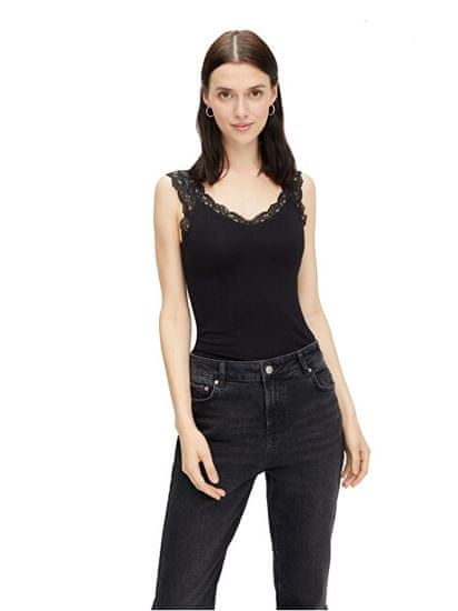 Pieces Női trikó PCBARBERA 17106017 Black