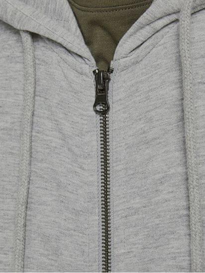 Jack&Jones Férfi sportfelső 12181901 JJEBASIC Light grey Melange