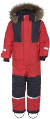 Didriksons1913 detská zimná kombinéza D1913 Björnen 503834-461 80 červená