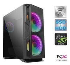 PCX Exies namizni gaming računalnik (PCX EXTIAN GX7.1)