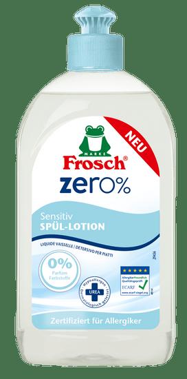Frosch EKO ZERO% Mosogatószer érzékeny bőrre 3x 500 ml