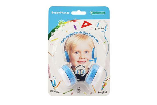 BuddyPhones StudyBuddy - gyermek fejhallgató mikrofonnal