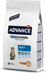 ADVANCE Cat Adult kura a ryža 1,5 kg