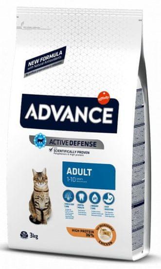 ADVANCE Cat Adult kura a ryža 3 kg