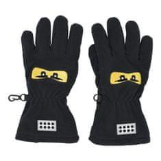 LEGO Wear chlapecké fleecové rukavice LW-11010214 černá 98/104