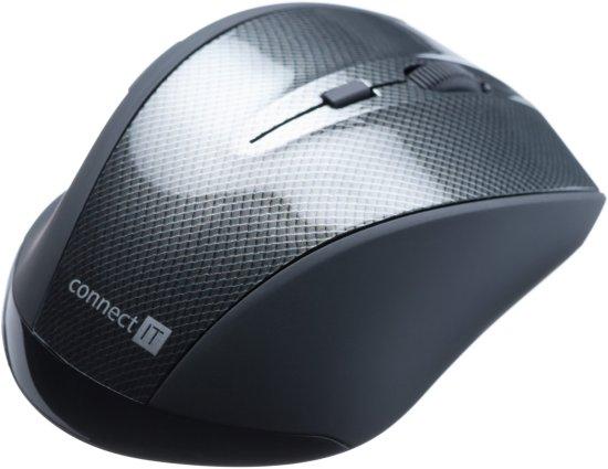 Connect IT Carbon, čierna, (CI-186)