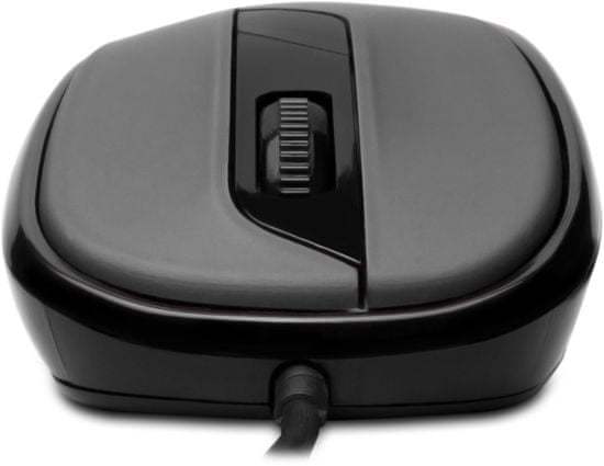 Connect IT Drátová optická myš, šedá, (CMO-1200-GY)