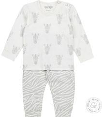 Dirkje dětské pyžamo - zebry WDB0501 50/56 bílá