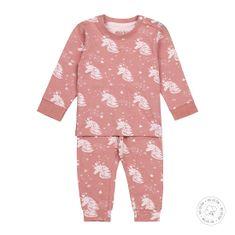 Dirkje dívčí pyžamo – jednorožec WDB0503 50/56 růžová