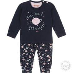 Dirkje dívčí pyžamo – vesmír WDB0504 50/56 tmavě modrá