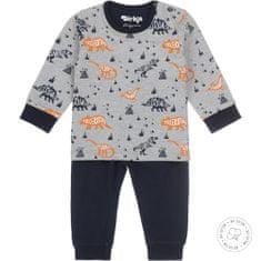 Dirkje chlapecké pyžamo - dino WDB0508 62/68 tmavě modrá