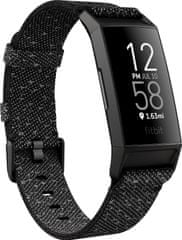 Fitbit Charge 4 Special Edition, NFC, Refl / Blk (FB417BKGY)