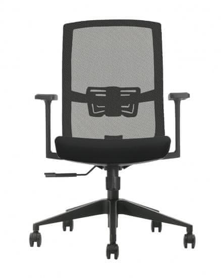 Hyle VRT X3-58-BM-BCJIT uredska stolica, crna