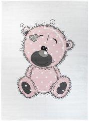 Chemex Koberec Pinky Dětské Módní Db67A Y Ewl Bílá Růžová Černá Šedá 80x150 cm