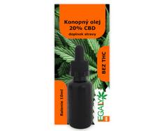 Legally420 Konopný olej 20% CBD, 10 ml