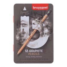 Bruynzeel Expression grafitové ceruzky, 12ks