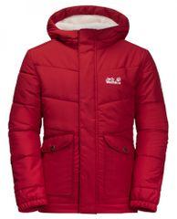 Jack Wolfskin Dziewczęca zimowa kurtka Snow Fox Jacket 1609101_2210 92 czerwona