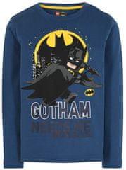 LEGO Wear chlapčenské tričko Batman LW-12010214 tmavomodrá 104