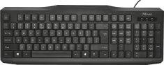 TRUST ClassicLine Keyboard, čierna (20638)