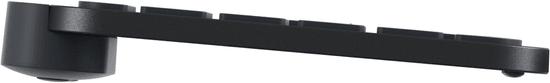 Logitech MX Keys, CZ, čierna/grafitová (920-009415)