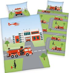 Herding dječja posteljina, vatrogasci