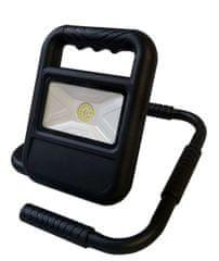Greenlux Prenosný bateriový LED reflector 20W 700/1400lm 4000K/neutrálna biela IP54 LED SMD BATTERY 20W GXLR002