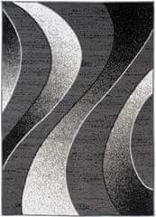 Chemex Koberec Bali Módní Turecké Vzory C586D Černá Šedá 120x170 cm