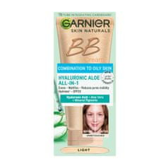 Garnier Skin Naturals dnevna BB krema za mešano do mastno kožo, Light, 50 ml