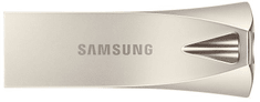 SAMSUNG BAR Plus 64GB, strieborná, (MUF-64BE3/APC)