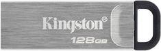 Kingston DataTraveler Kyson, - 128GB, strieborná (DTKN/128GB)