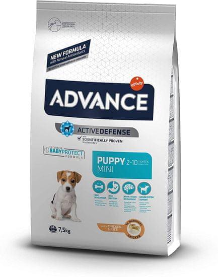 ADVANCE Dog MINI Puppy Protect hrana za pse za štence i trudne ženke, 7,5 kg