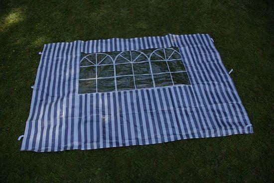 shumee Sada dvoch bočných stien pre záhradný stan - biela / modrá Garth