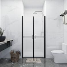shumee Vrata za tuš mlečna ESG (78-81)x190 cm