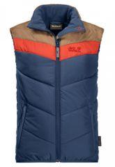 Jack Wolfskin chlapecká vesta Three Hills Vest 1608641_1024 104 tmavě modrá