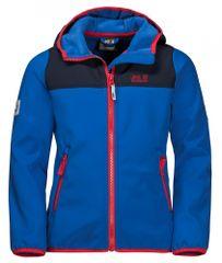 Jack Wolfskin Chłopięca kurta softshell Fourwinds Jacket 1608011_1201 104 niebieska