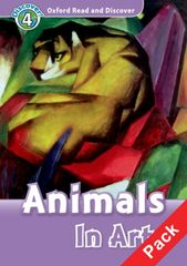 Oxford Oxford Read And Discover 4 Animals in Art Audio CD Pack