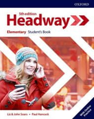 Oxford New Headway Fifth Edition Elementary Student´s Book with Student Resource Centre Pack