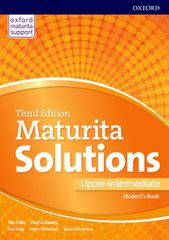 Oxford Maturita Solutions 3rd Edition Upper-intermediate Student´s Book Czech Edition