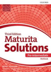 Oxford Maturita Solutions 3rd Edition Pre-Intermediate Workbook Czech Edition