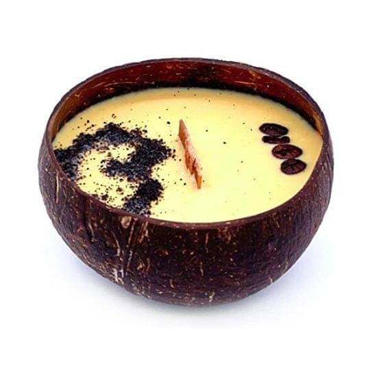 Tropikalia Sviečka z kokosu - vône Coffee Mocha
