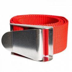 AGAMA Záťažový opasok s kovovou prackou 1,5 m červená