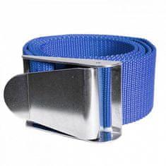 AGAMA Záťažový opasok s kovovou prackou 1,5 m modrá