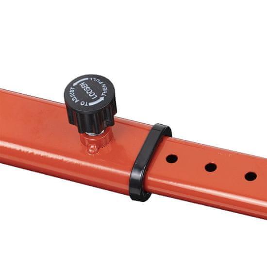 """Berger Hoverkart - rám se sedadlem pro hoverboard 6,5"""" / 8"""" / 10"""" Red"""