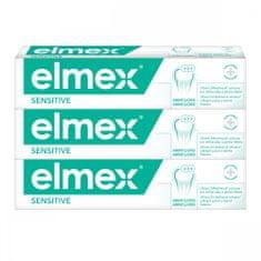 Elmex Zubní pasta Sensitive 3x 75 ml
