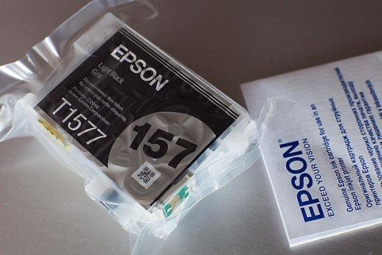 Epson C13T15774010, Light Black