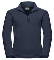 Jack Wolfskin 1605553_1010 Gecko otroški pulover iz flisa, temno moder, 140