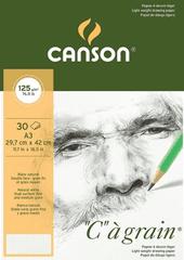 canson Skicák Canson Cagrain kroužkový blok A4 125g, 30 listů